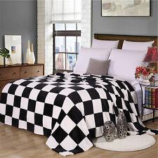 Throws Fleece Fabric Super Soft Bedclothes Blanket Mink Sofa Bed Warm 150*200cm