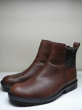 Men's TIMBERLAND Brown Leather Chelsea Ankle Boots Size 11 M