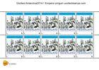 Paises Basos 2014-1 Antartida bloque nuevos/postfris s