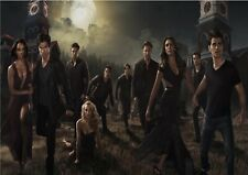 The Vampire Diaries All Cast TV Series Art Glossy Poster- Size A1 A2 A3 A4