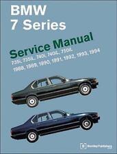 BMW 7 Series (E32) Service Manual: 735i, 735iL, 740i, 740iL, 750iL: 1988, 1989,