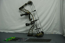 Hyde Power Max 60-70Lb 25.5-30 Draw Rh Compound Bow W/Accessories