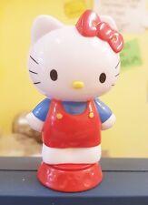 Topper per torte Hello Kitty rosso blu Personaggio 3-d plastica anche giocattolo