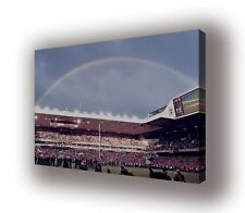 White Hart Lane - Under the Rainbow  - Wall Canvas 63x40cm