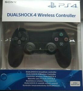 PS4 Dual-shock 4 Wireless Controller V2 in - Black