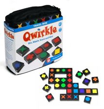 Qwirkle - Travel Size - Award Winning Pattern Matching Multiplayer Board Game