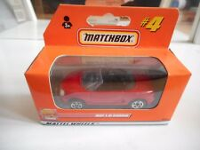 Matchbox MGF 1.8i Cabriolet in Red in box