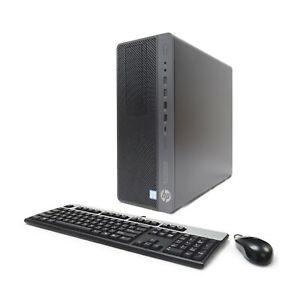 HP 800 G4 Workstation 6-Core i7-8700 3.20/4.6GHz 16GB Ram 1TB SSD 2TB Nvidia 4GB