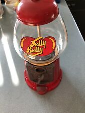 Jelly Belly Mini Bean Machine Candy Dispenser Bank Die Cast Metal w/Glass Globe