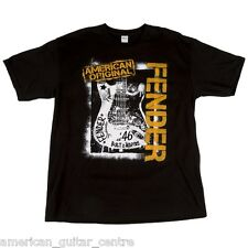 More details for fender spray paint t-shirt x large