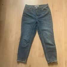 Topshop Blue High Waisted Mom Jeans W30 L30