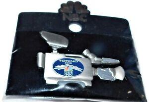 NBC Torino 2006 winter Olympics media broadcaster camera pin MOC sealed