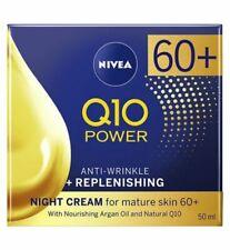Nivea Q10 Power AGE 60+ NIGHT CREAM Anti Wrinkle + Replenishing mature skin