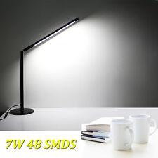 7W Lampada da tavolo a LED lampada da scrivania per lo studio e leggere 48x LEDs