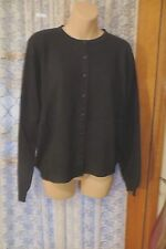 VINTAGE CLASSIC ~ KATIES ~ Black CARDIGAN /TOP  * Size 12/14  * REDUCED !!
