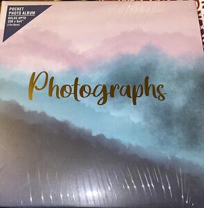 "Decorative Photo Album Photograph Hold 200 6""x4""Photos Pink Birthday Friend Gift"