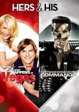 What Happens In Vegas / Commando (DVD, 2013)