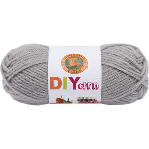 Lion Brand DIYarn -Grey