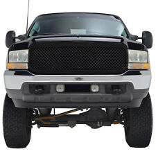 99-04 Ford F250 / F350 Super Duty Mesh Grille Glossy Black ABS Replacement