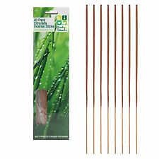 Roots & Shoots 40 Pack Citronella Incense Sticks Outdoor Garden Mosquito Fly