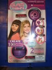 GLAM TWIRL AUTOMATIC AND EASY HAIR BRAIDER AND WRAPPER WITH 2 STYLING TOOLS