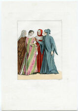 MIDDLE AGES-NUPTIAL CEREMONY-ITALY-P. 13- LANDINI-FERRARIO-1827