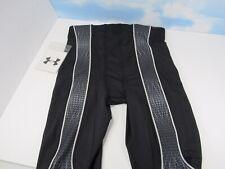 New Under Armour Men's XL 12 Custom Warrior Football Pants Black Grey A8