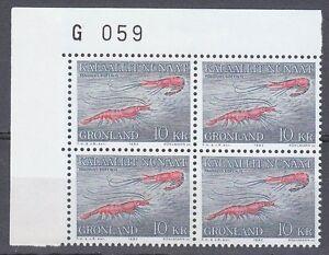 Greenland 1982 Mi 133 Sc 136 MNH Caridean shrimp Pandalus Borealis WWF 01