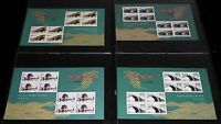China 2003-5 Mini S/S Ancient Chinese Arch Bridges Stamps 古橋
