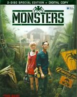 Monsters (DVD, 2011, 2-Disc Set, Special Edition Includes Digital Copy)