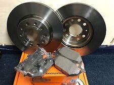 VW Golf MK5/MK6 Rear Brake Discs And Pads Pair Part Kit 2003-2009 NEW SET