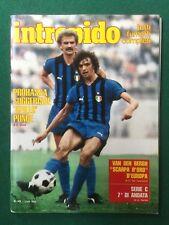 Rivista INTREPIDO n.45/1980 (ITA) INTER DE ANDRE' PFM GLI ABBA IVAN LENDL EGE