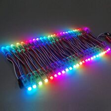 IP68 Waterproof WS2811 RGB Led pixel module 12mm Diffused Advertising Nodes 5V