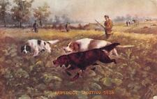 WEEHAWKEN, NJ  New Jersey   PARTRIDGE SHOOTING  Hunters & Dogs  c1910's Postcard
