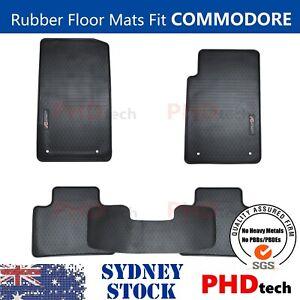 Premium Rubber Floor Mats fit Holden VF Commodore SSV SS6 Black Edition 4 Badges