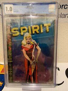SPIRIT #22 CGC 1.0, HTF Classic Cover at any price!