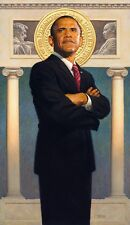 "THOMAS BLACKSHEAR -- ""PRESIDENT OBAMA"" -- SIGNED PRINT"