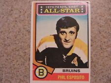 TOPPS PHIL ESPOSITO 1973-74 ALL STAR CARD # 129