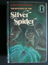 The Three Investigators The Mystery Of The Silver Spider HB VHTF (c)