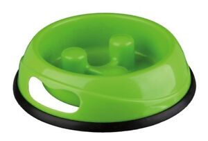 Trixie Bowl Dogs Slow Feed Plastic Various Colors Helps To Eat Slow