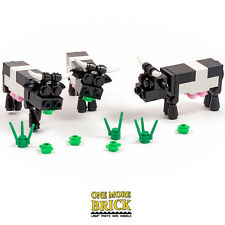 LEGO Cows + grass Set of 3 for farm, field or town/city. NEW