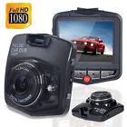 HD 1080P Car DVR Vehicle Camera Video Recorder Dash Cam G-sensor Night Vision SD