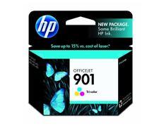 Genuine HP 901 Tri-Color Ink Cartridge in Sealed Retail Package