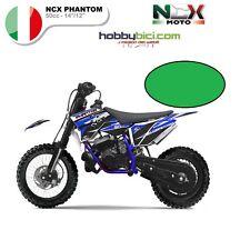 MINI CROSS MOTO ELETTRICA NCX PHANTOM 10/12 50cci Motore 2 Tempi F.MORINI VERDE