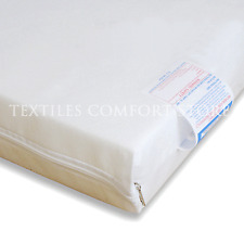 Travel Cot Mattress 65 X 95cm by 7cm Deep Zip Cover Cotton Fitted Sheet