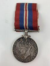 Vintage WWII Britain Georgivs 1939-1945 Victory Medal Collectors Item