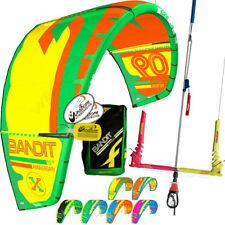 New 2017 Fone Bandit 11M Kitesurfing Kite Complete + 2018 F-One Linx Bar & Lines