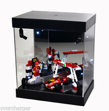 MB-1S22 Display Box Acrylic Case LED Light House for LEGO toy car truck vehicle