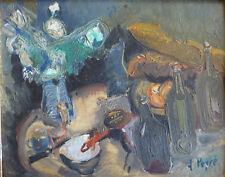Louis PEYRÉ (1923-2012) HsP Années 50 Jeune Peinture Nouvelle Ecole de Paris