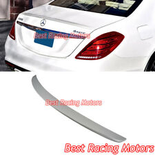 A Style Trunk Spoiler (ABS) Fits 14-18 Mercedes-Benz W222 S-Class 4dr